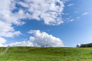 霧ヶ峰高原の景色の写真素材 [FYI04605487]
