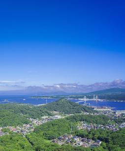 北海道 風景 測量山より室蘭市街遠望 の写真素材 [FYI04605536]