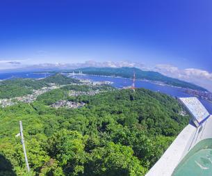 北海道 風景 測量山より室蘭市街遠望 の写真素材 [FYI04605539]