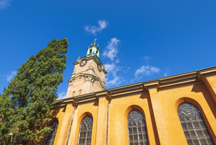 スウェーデン、ストックホルム大聖堂の写真素材 [FYI04605568]