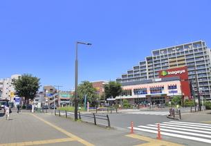 花小金井駅北口の写真素材 [FYI04605960]