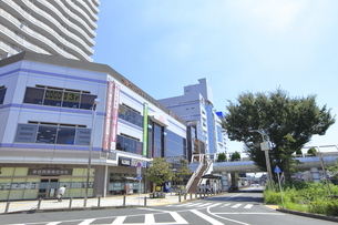 田無駅北口前 西武新宿線の写真素材 [FYI04605975]