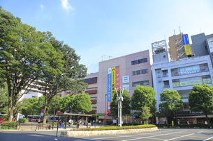 武蔵境駅南口の写真素材 [FYI04605985]