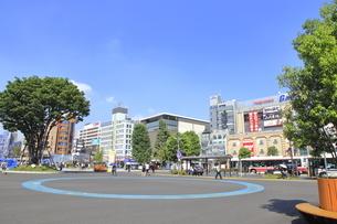 調布駅 駅前広場の写真素材 [FYI04605988]