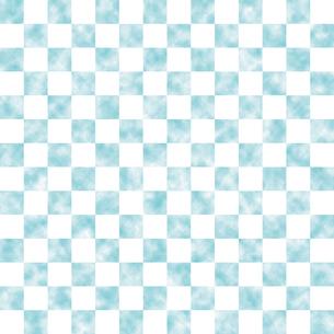 市松模様 空 水色 Mのイラスト素材 [FYI04606104]