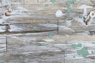 ペンキがついた木床の写真素材 [FYI04606499]