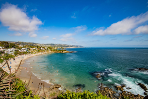 カリフォルニア州 オレンジカウンティ ラグナビーチの写真素材 [FYI04606533]