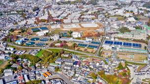 川崎市多摩区の風景空撮の写真素材 [FYI04606929]
