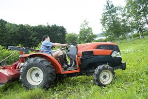 農作業するミドルの男性の写真素材 [FYI04607384]