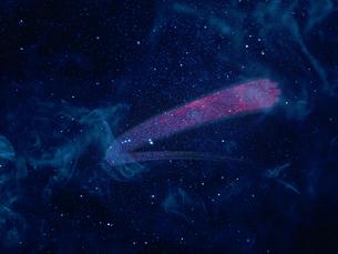 光の素材で作られた宇宙空間の写真素材 [FYI04607522]