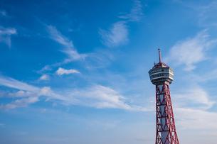 博多ポートタワー外観の写真素材 [FYI04608273]