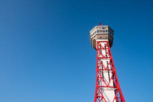 博多ポートタワー外観の写真素材 [FYI04608284]