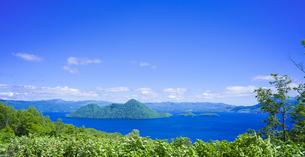 北海道 自然 風景 洞爺湖の写真素材 [FYI04608768]