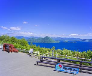 北海道 自然 風景 洞爺湖の写真素材 [FYI04608773]