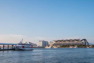 博多埠頭の風景の写真素材 [FYI04609327]
