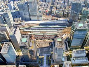 東京の街並み空撮の写真素材 [FYI04609331]