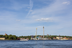 スウェーデン、グローナルンド遊園地の写真素材 [FYI04609902]