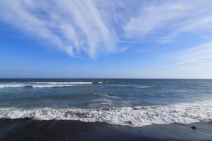 鎌倉 稲村ケ崎の渚の写真素材 [FYI04610307]