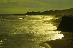 鎌倉 七里ガ浜の渚の写真素材 [FYI04610314]