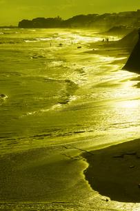 鎌倉 七里ガ浜の渚の写真素材 [FYI04610317]