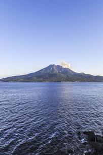 錦江湾と桜島の写真素材 [FYI04610483]