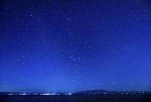 満天の星空の写真素材 [FYI04610485]