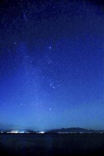 満天の星空の写真素材 [FYI04610488]