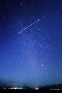 満天の星空の写真素材 [FYI04610490]