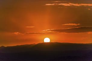 日の出の写真素材 [FYI04610499]
