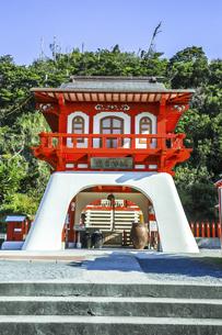 長崎鼻の竜宮神社の写真素材 [FYI04610519]