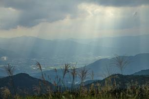 初秋の景の写真素材 [FYI04610561]