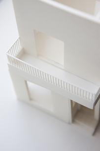 住宅模型の写真素材 [FYI04610802]
