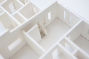 住宅模型の写真素材 [FYI04610804]
