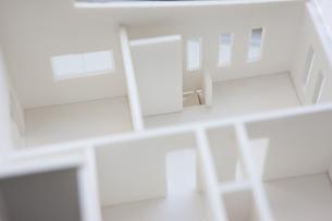住宅模型の写真素材 [FYI04610805]