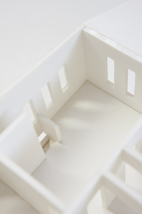 住宅模型の写真素材 [FYI04610808]