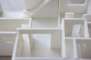 住宅模型の写真素材 [FYI04610818]