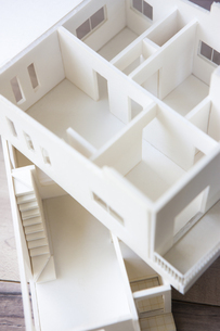 住宅模型の写真素材 [FYI04610819]