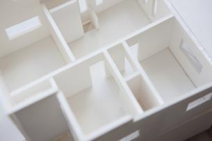 住宅模型の写真素材 [FYI04610822]