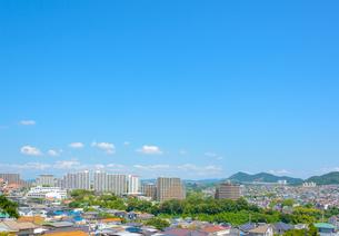 関西の住宅 神戸市の住宅街の写真素材 [FYI04611785]