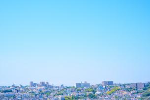 関西の住宅 神戸市の住宅街の写真素材 [FYI04611793]