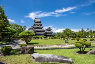 長野県 松本城の写真素材 [FYI04612324]
