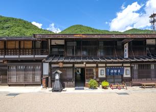 長野県 奈良井宿の写真素材 [FYI04612519]