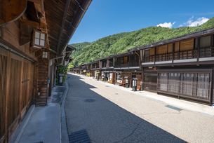 長野県 奈良井宿の写真素材 [FYI04612520]