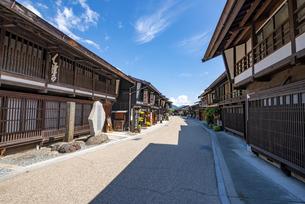 長野県 奈良井宿の写真素材 [FYI04612521]
