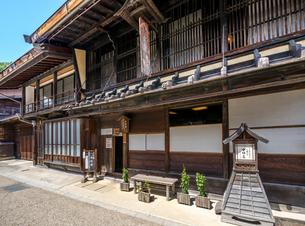 長野県  奈良井の代表的民家 中村邸 元櫛問屋の写真素材 [FYI04612522]