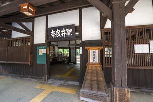 長野県 JR東海 奈良井駅の写真素材 [FYI04612524]