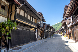 長野県 奈良井宿の写真素材 [FYI04612526]