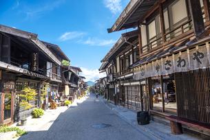 長野県 奈良井宿の写真素材 [FYI04612528]