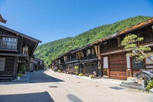 長野県 奈良井宿の写真素材 [FYI04612530]