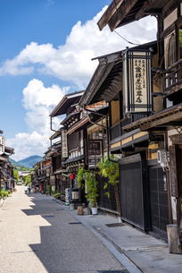 長野県 奈良井宿の写真素材 [FYI04612577]